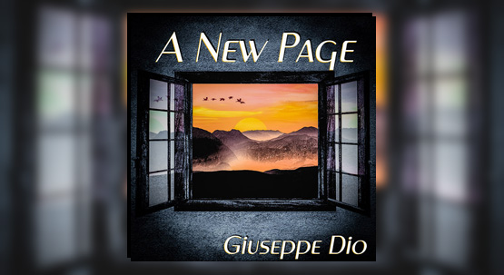 New single A New Page available on digital stores and streaming platforms from June 5th 2020