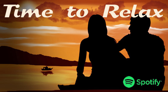 Spotify Playlist of the month - Time to Relax